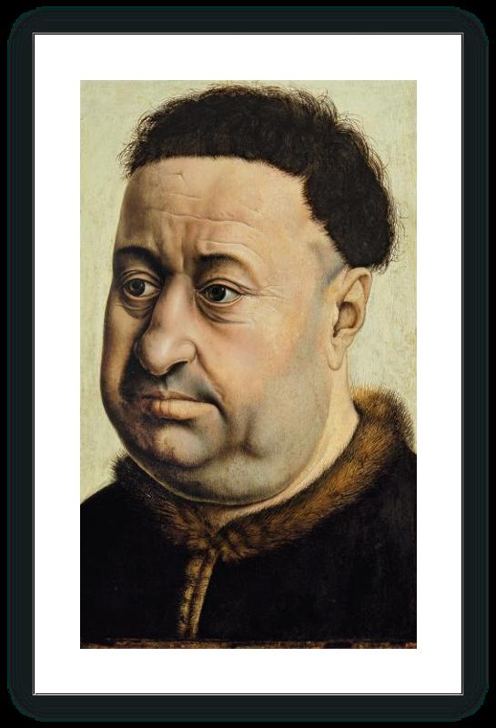 Retrato de un hombre robusto (¿Robert de Masmines?)