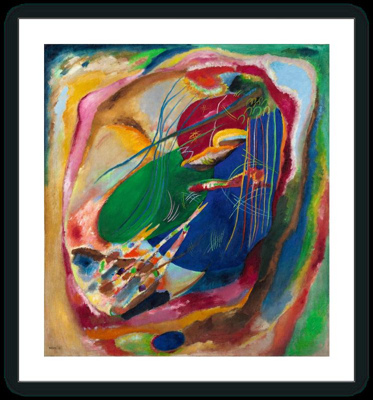Pintura con tres manchas, nº 196