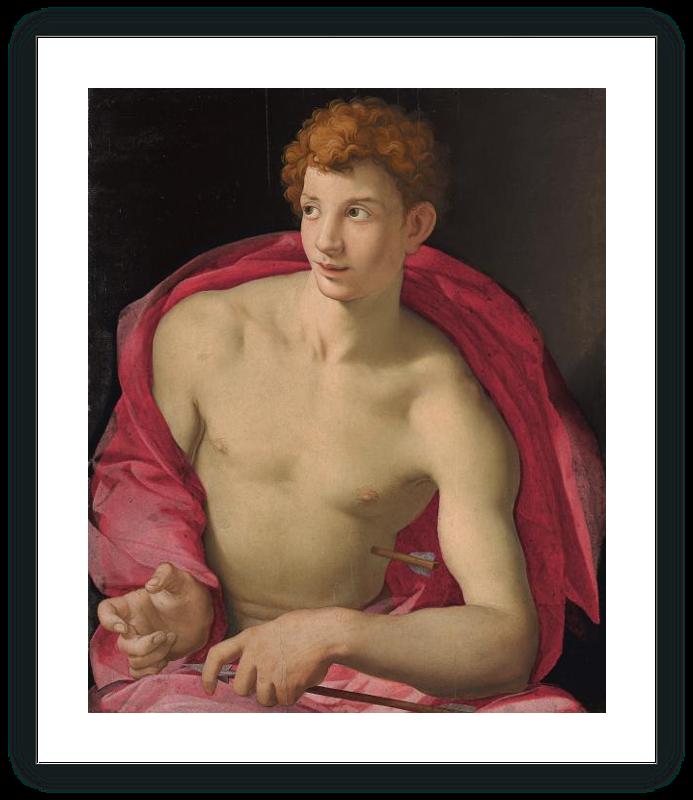 Retrato de un joven como San Sebastián
