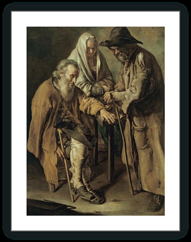 Tres mendigos