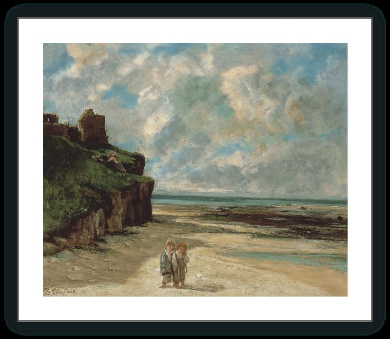 La playa de Saint-Aubin-sur-Mer