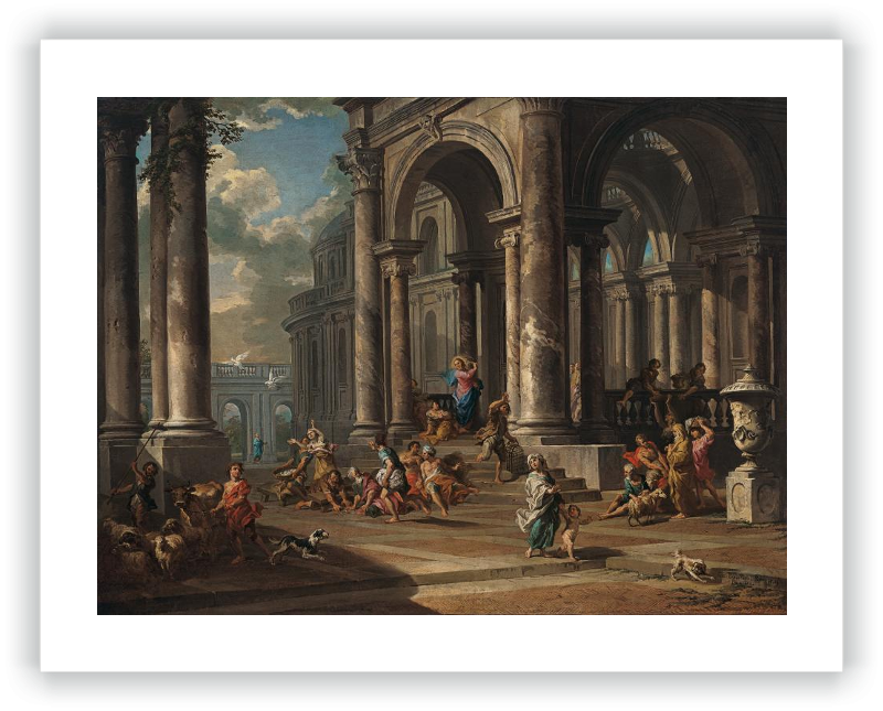 La Expulsión de los mercaderes del Templo