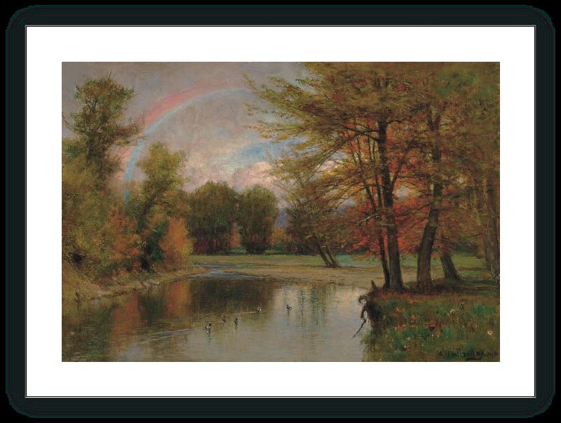 El arco iris, otoño, Catskill