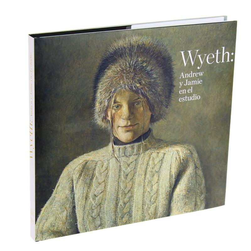 """Catálogo de la exposición """"Wyeth: Andrew y Jamie en el estudio"""""""