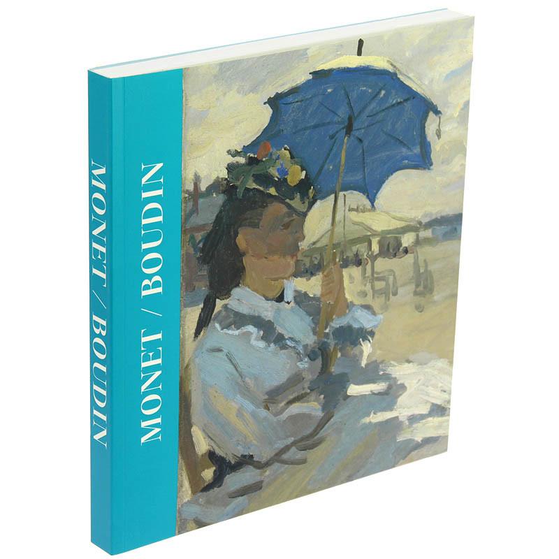 Monet/Boudin. Catálogo de la exposición rústica español