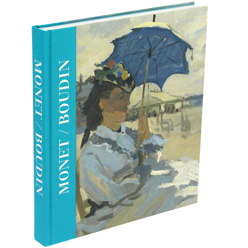 Monet/Boudin. Catálogo de la exposición tapa dura español