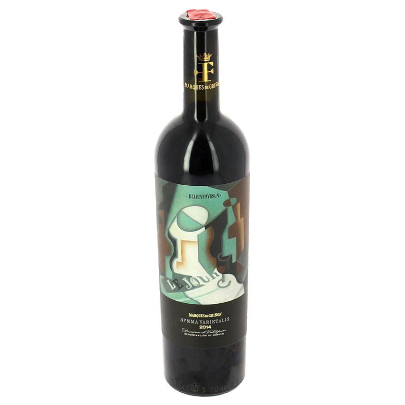 Vino tinto reserva Summa Varietalis 2014 Edición limitada Delicathyssen