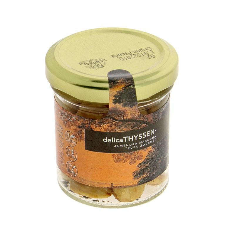 Almendras Marcona con azúcar y trufa. 40 g