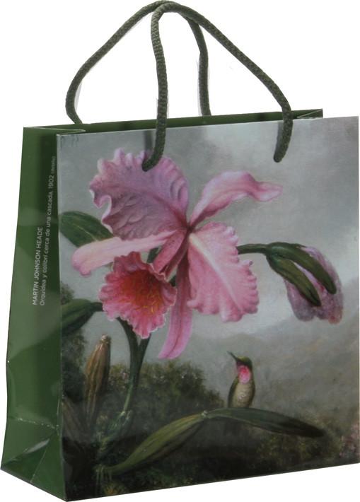 Bolsa Orquídea y Colibrí