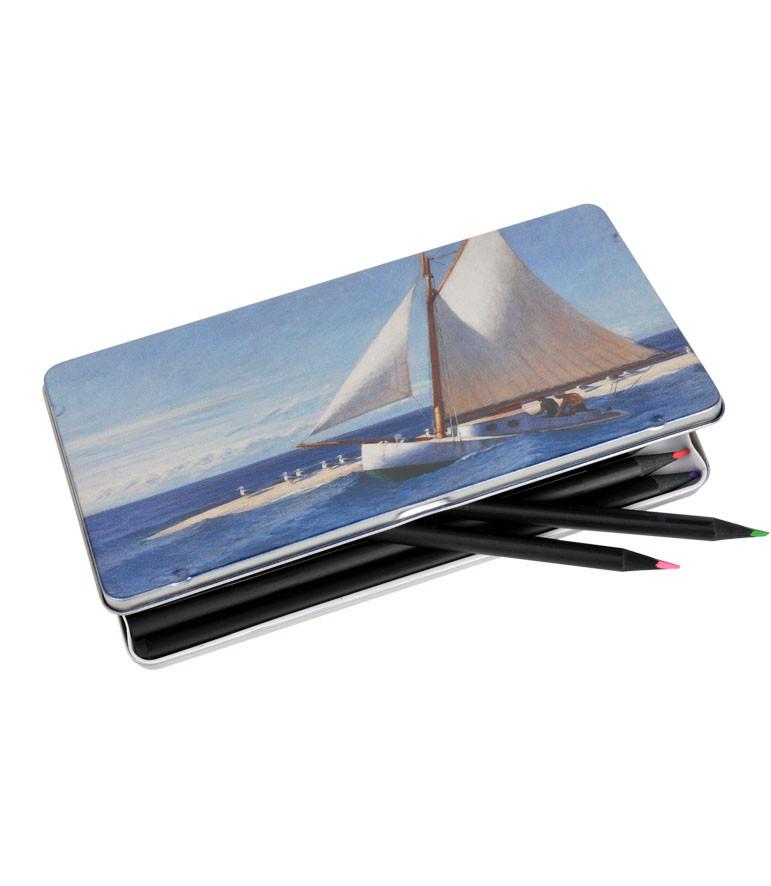 Caja de lápices Edward Hopper
