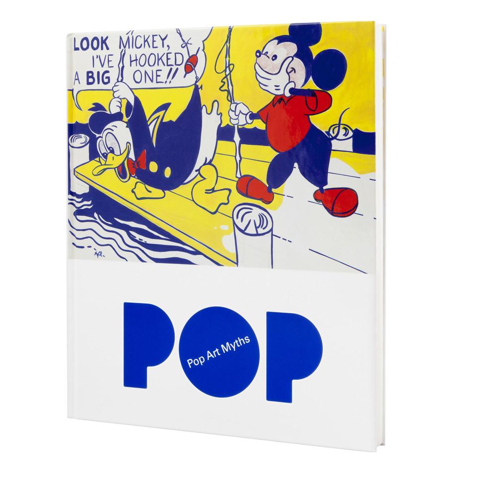 Catálogo de la exposición Mitos del Pop (Inglés)