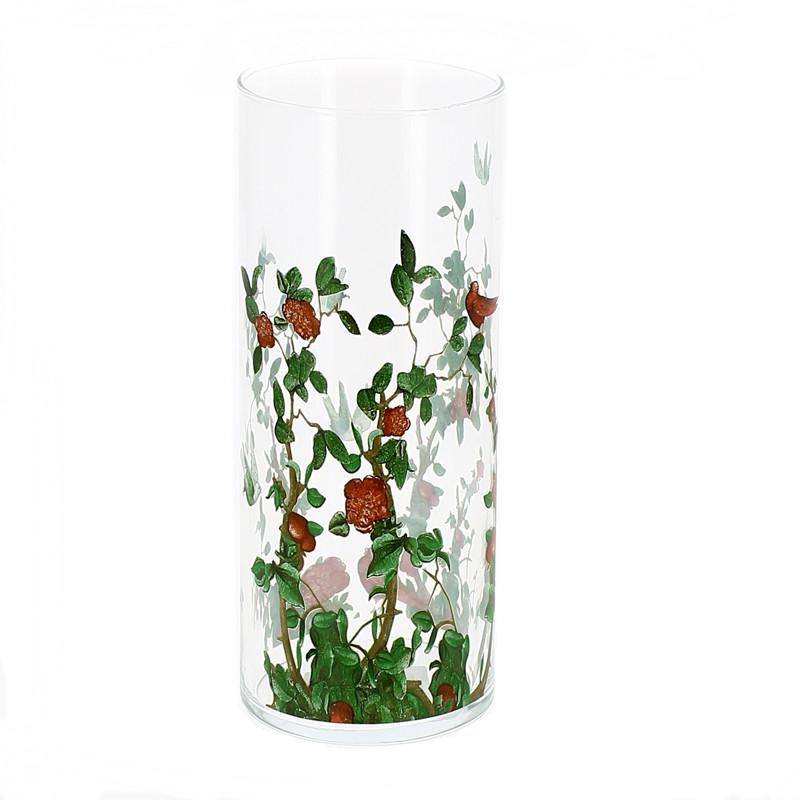 Florero de cristal Alma Tadema