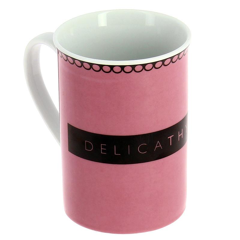 Mug rosa DelicaThyssen