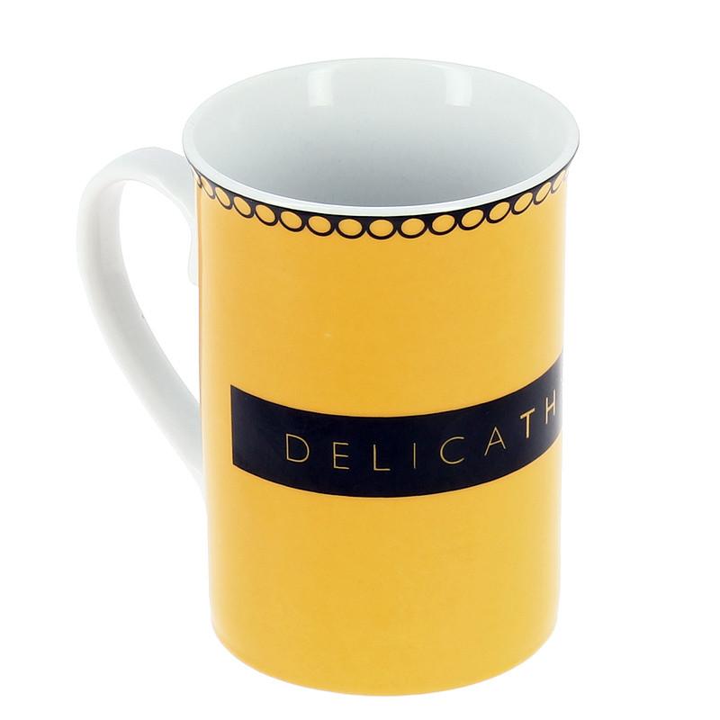 Mug amarillo DelicaThyssen