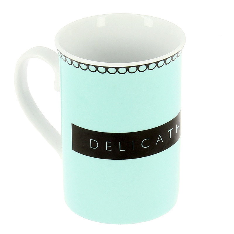 Mug azul DelicaThyssen