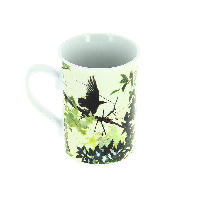 "Mug de porcelana ""El roble"" de Andrew Wyeth"