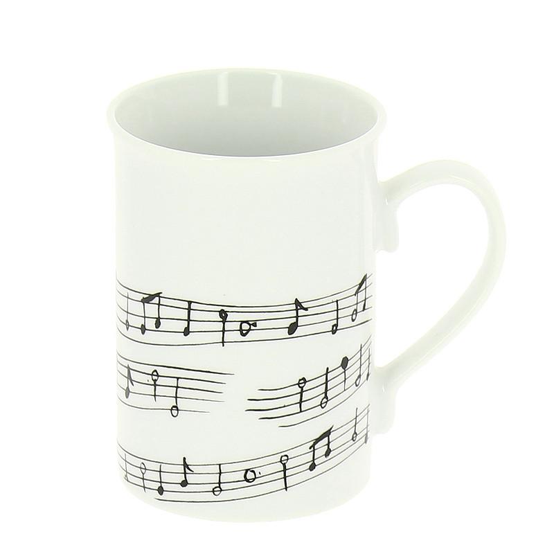 """Mug """"Partitura"""" de Caravaggio"""