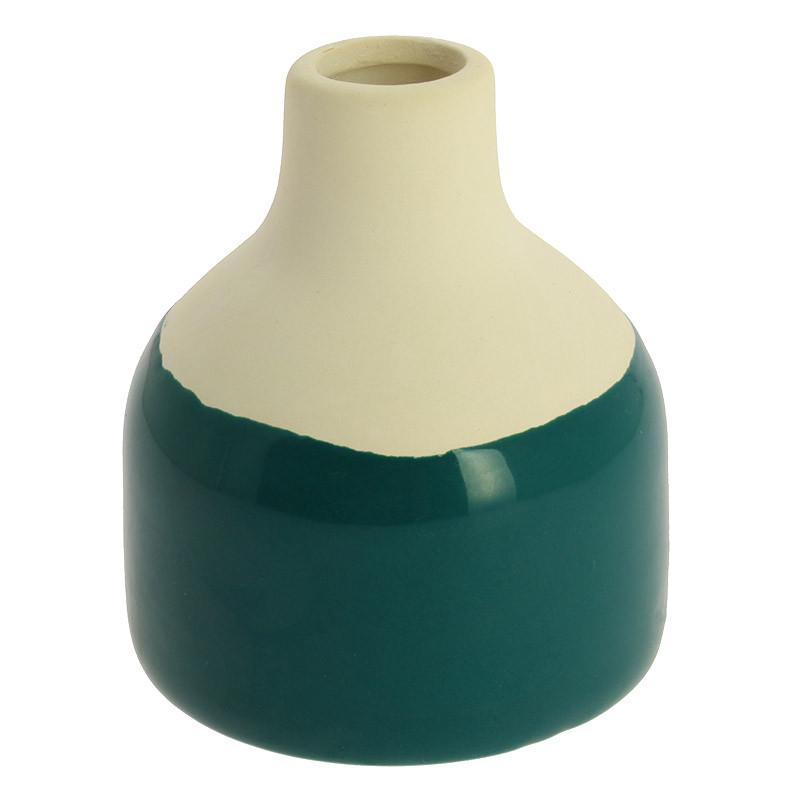 Pequeña pieza de cerámica verde Sonia Delaunay