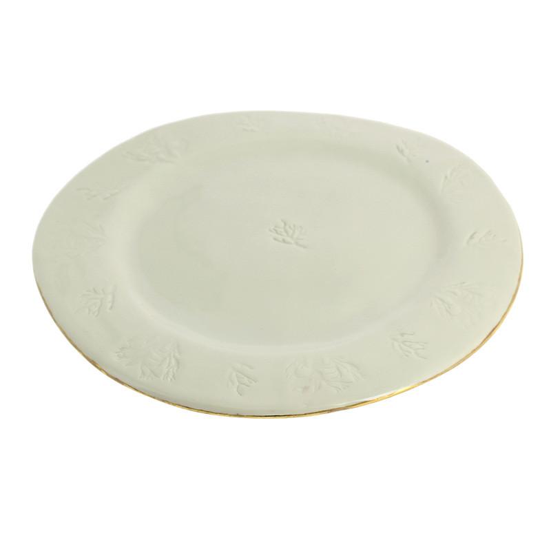 Plato de porcelana Neptuno