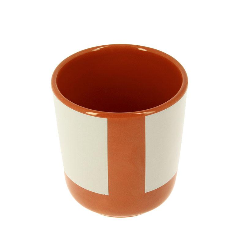 Taza de cerámica sin asa Albers-Helena Rohner
