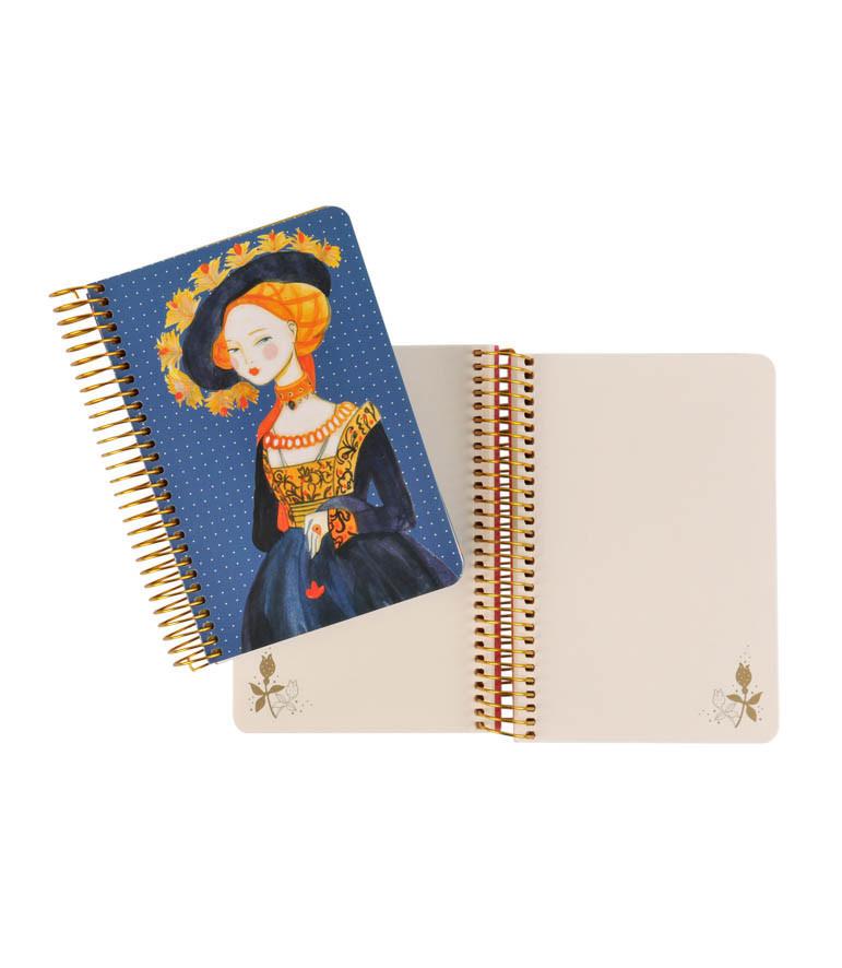 Cuaderno Retrato de una Dama