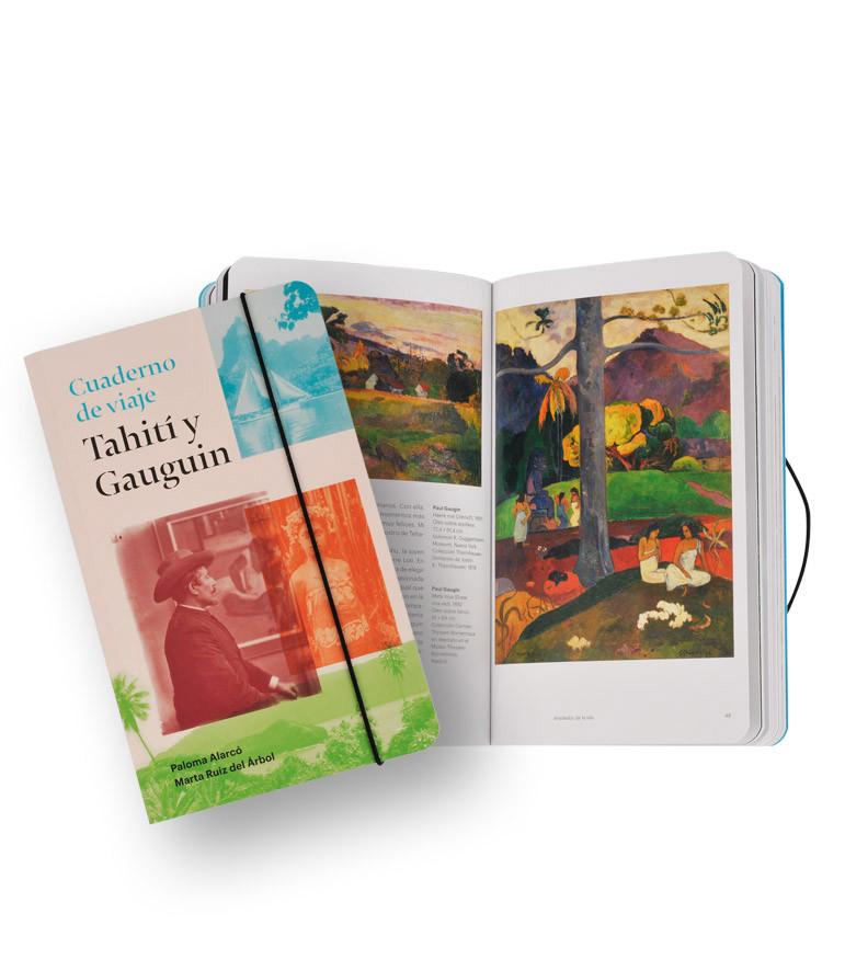 Cuaderno de viaje: Tahití y Gauguin