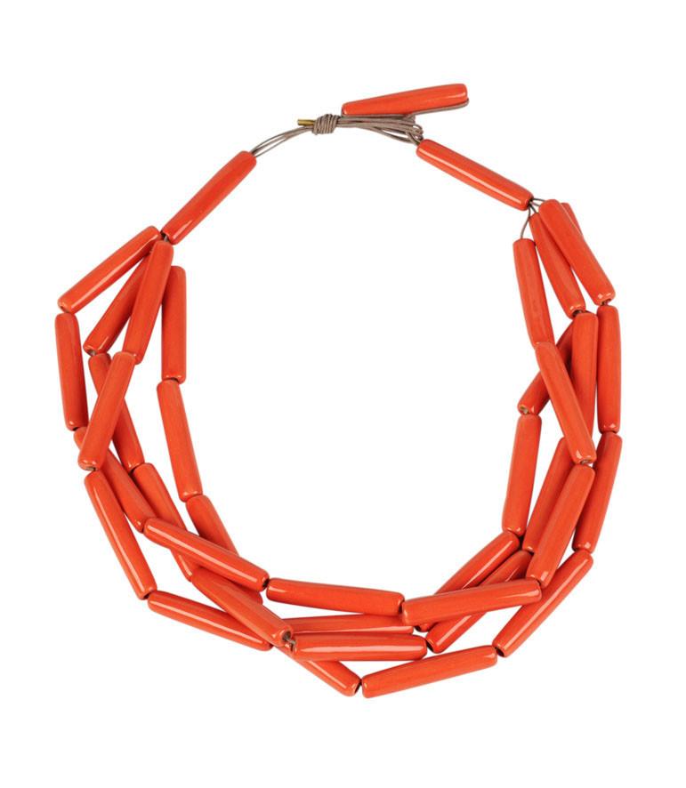 Collar Ernst Ludwig Kirchner color coral