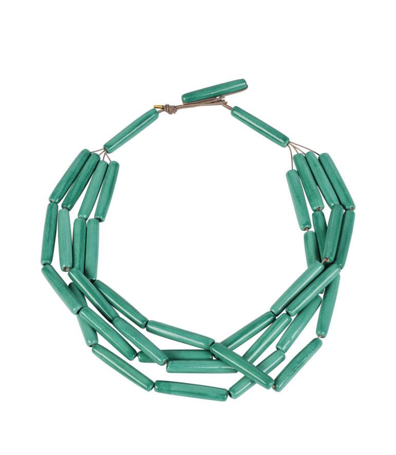 Collar Ernst Ludwig Kirchner color turquesa