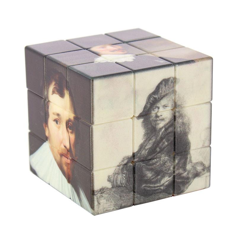 Cubo-puzle imágenes exposición Rembrandt