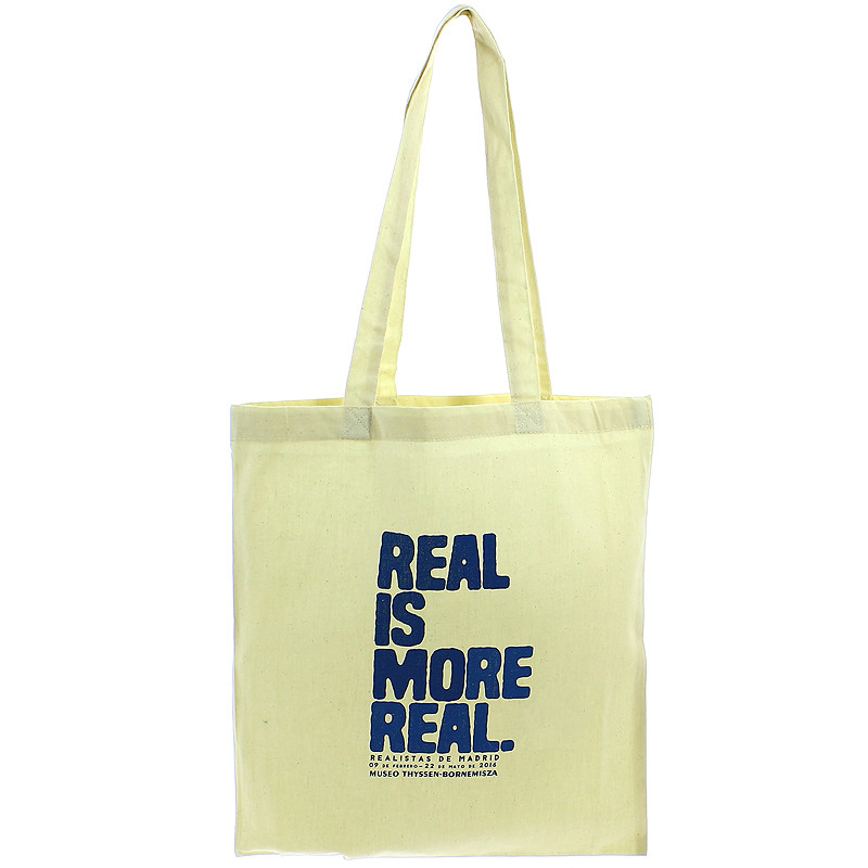 Bolsa lona Realistas de Madrid