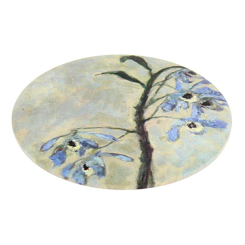 """Espejo de mano """"Orquídeas"""" de Caillebotte"""