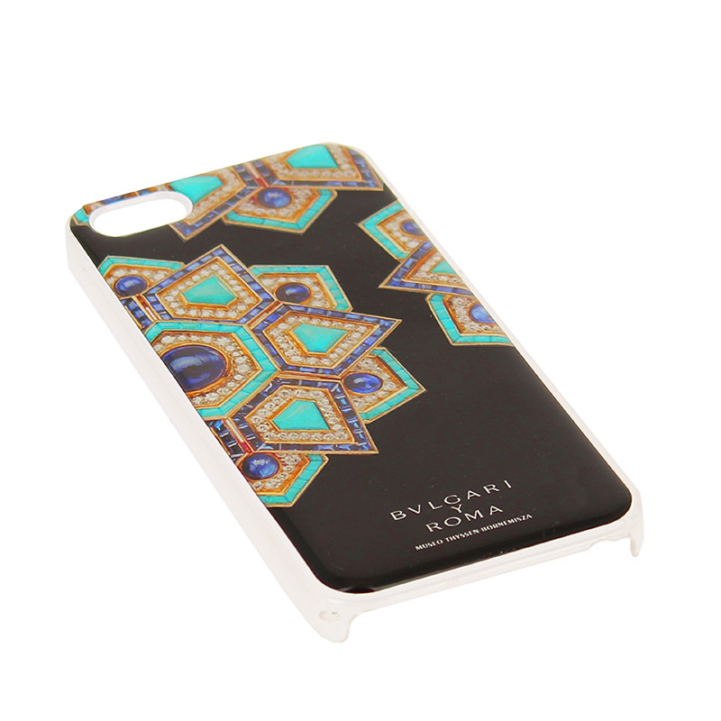 Funda Iphone5 Estrella Turquesa Bulgari