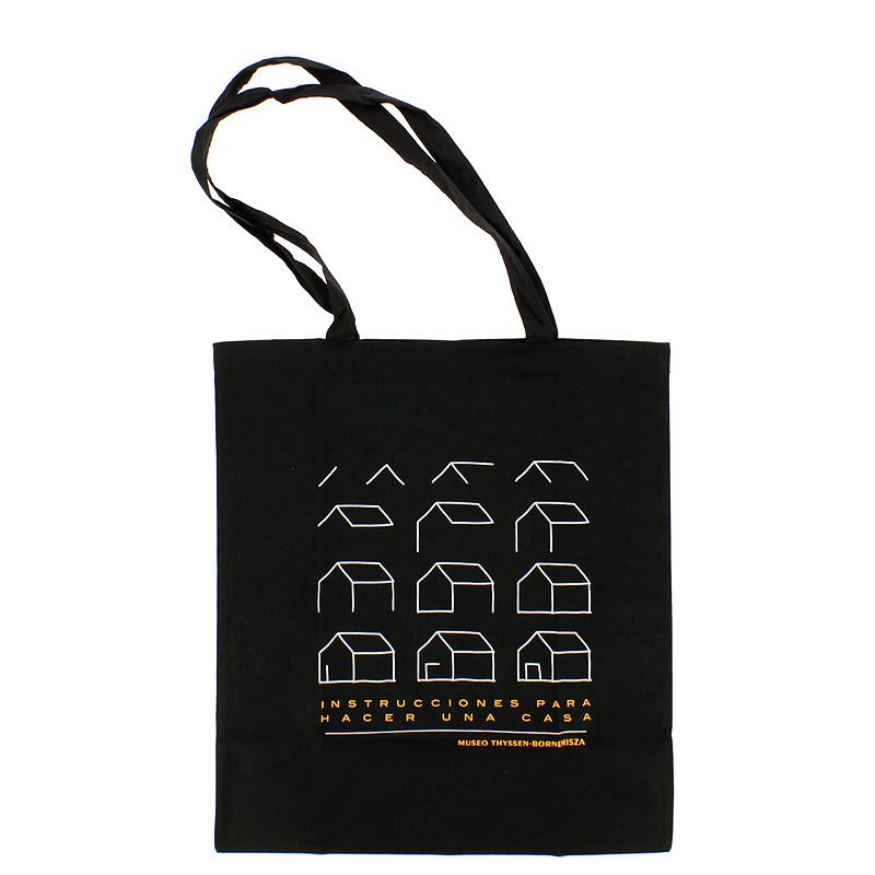 """Bolsa negra """"Instrucciones para hacer una casa"""""""