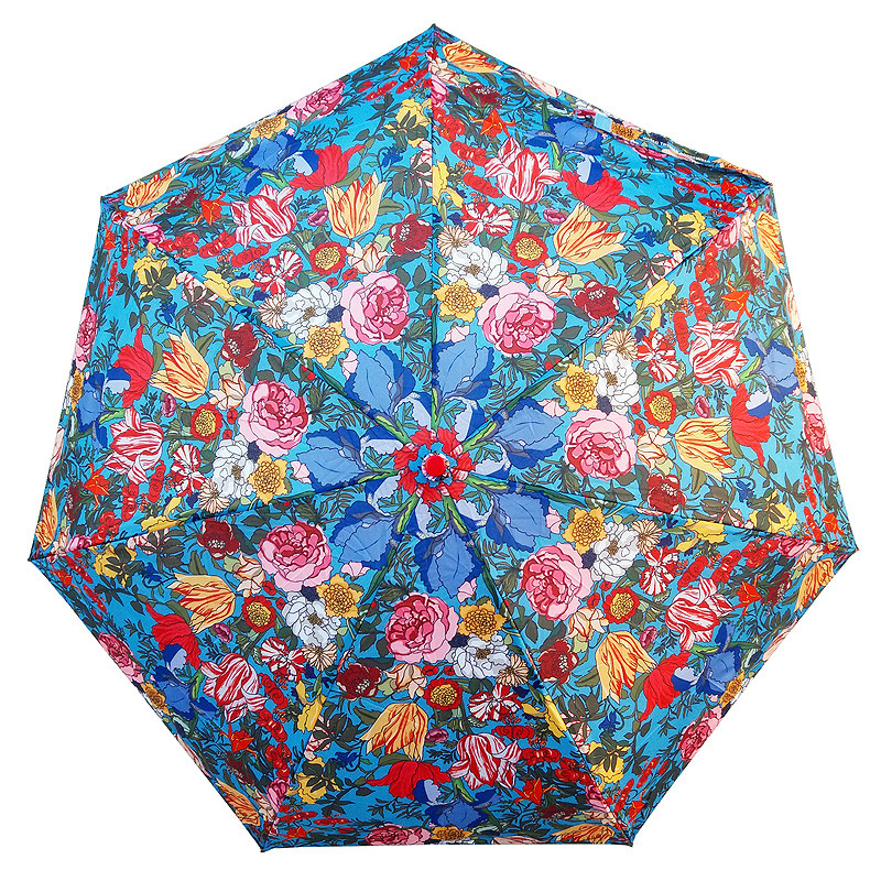 Paraguas plegable Flores Van der Ast