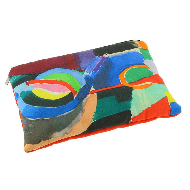 """Estuche de algodón """"Prosa del Transiberiano"""" Sonia Delaunay"""