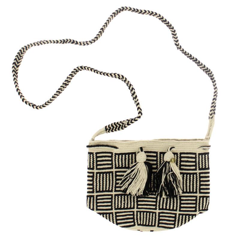 Bolso crochet Wayuu