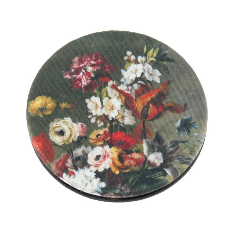 Espejo de Tela de Flores. Balenciaga