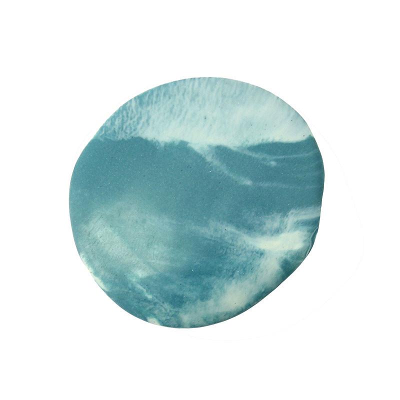 Broche de porcelana Sisley Inundación