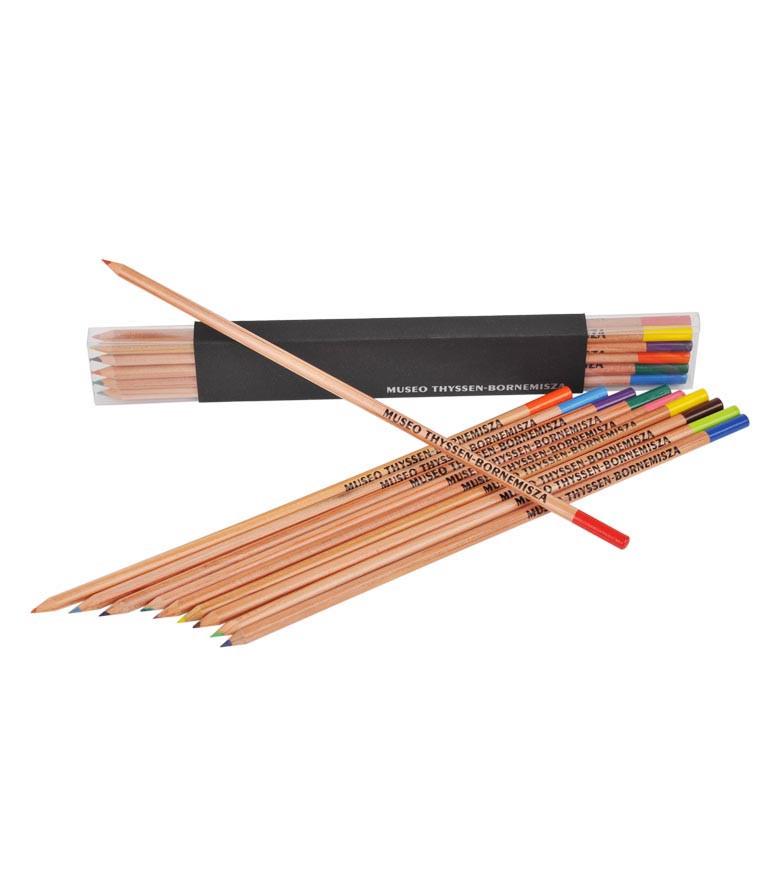 Caja de lápices Museo Thyssen-Bornemisza