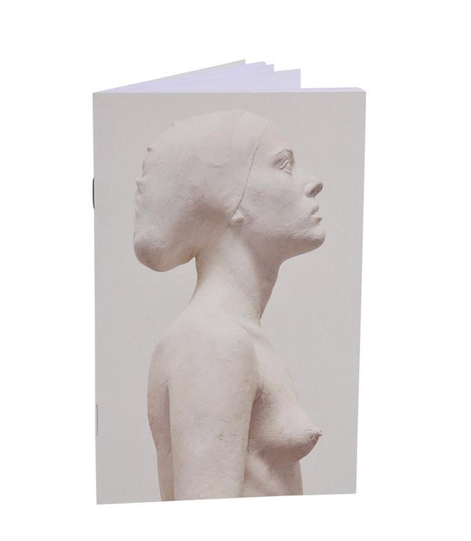 Libreta Figura de mujer. Eva.