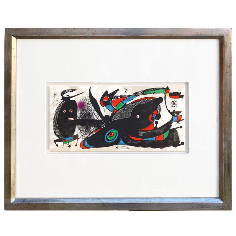 """Litografía Joan Miró """"Great Britain. 1975"""""""