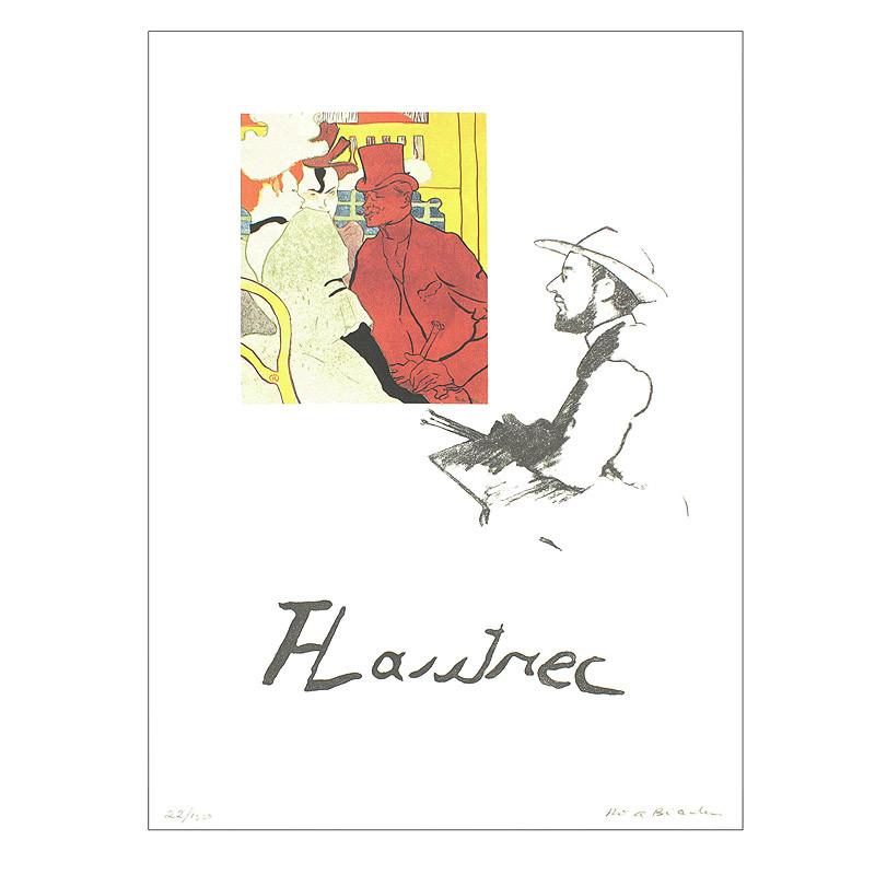 Grabado Toulouse-Lautrec