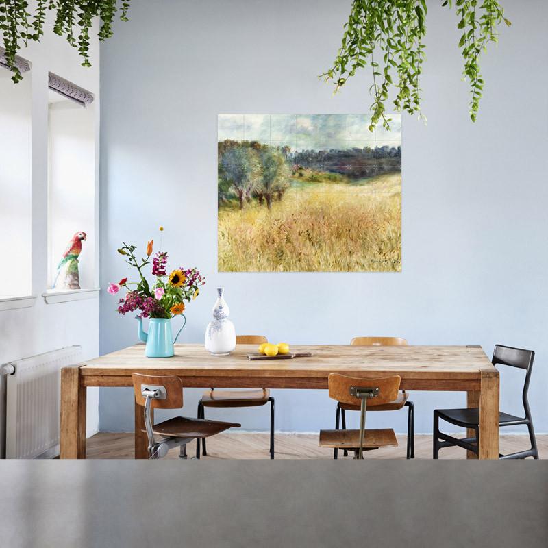 Decoración mural IXXI 140 X 120 Campo de trigo Renoir