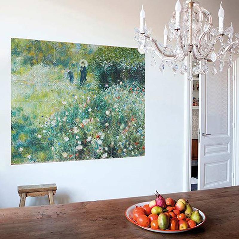 Decoración mural IXXI 140 X 120 Renoir Mujer con Sombrilla