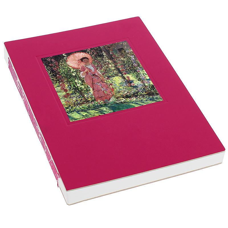 Cuaderno Cosido Malvarrosas