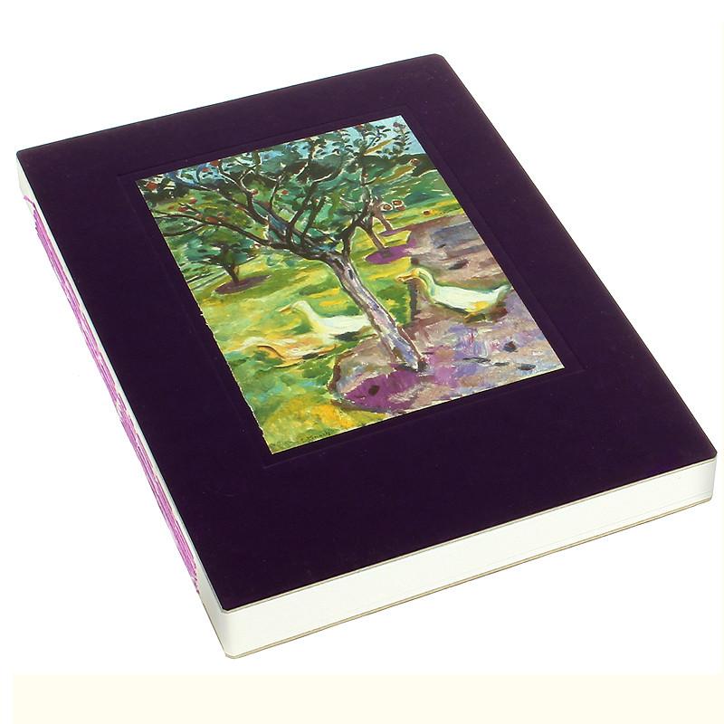 Cuaderno cosido Gansos en el Huerto