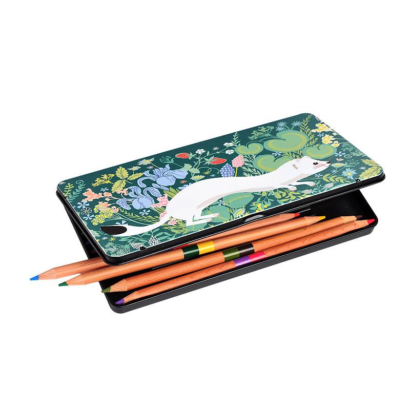 Caja de 12 lápices de colores Armiño de Carpaccio