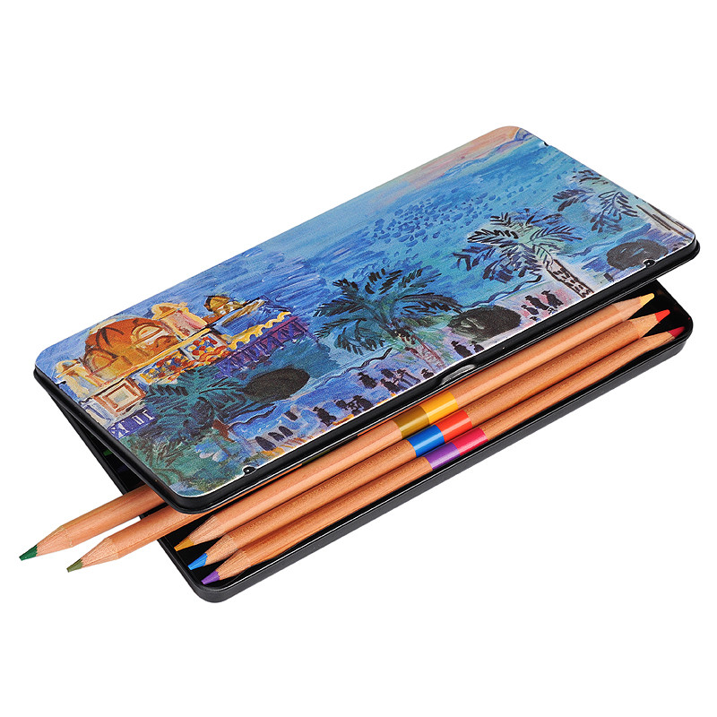 Caja de 12 lápices de colores Niza, Casino viejo de Dufy