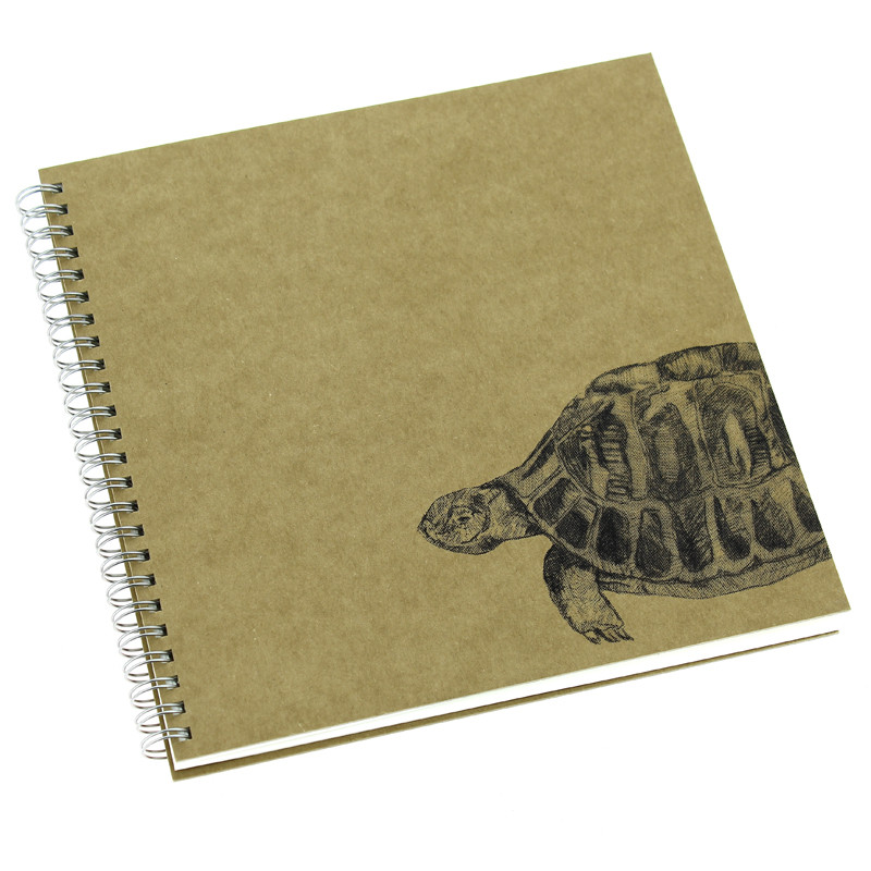 """Cuaderno de dibujo """"Tortuga"""" de Caravaggio"""