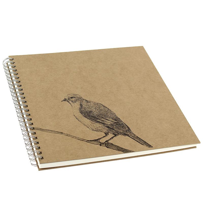 """Cuaderno de dibujo """"Pájaro"""" de Caravaggio"""